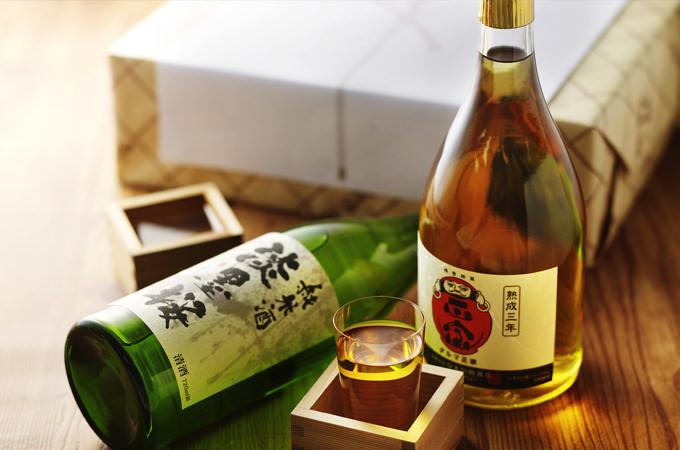 淡墨桜と熟成三年の黄金セット